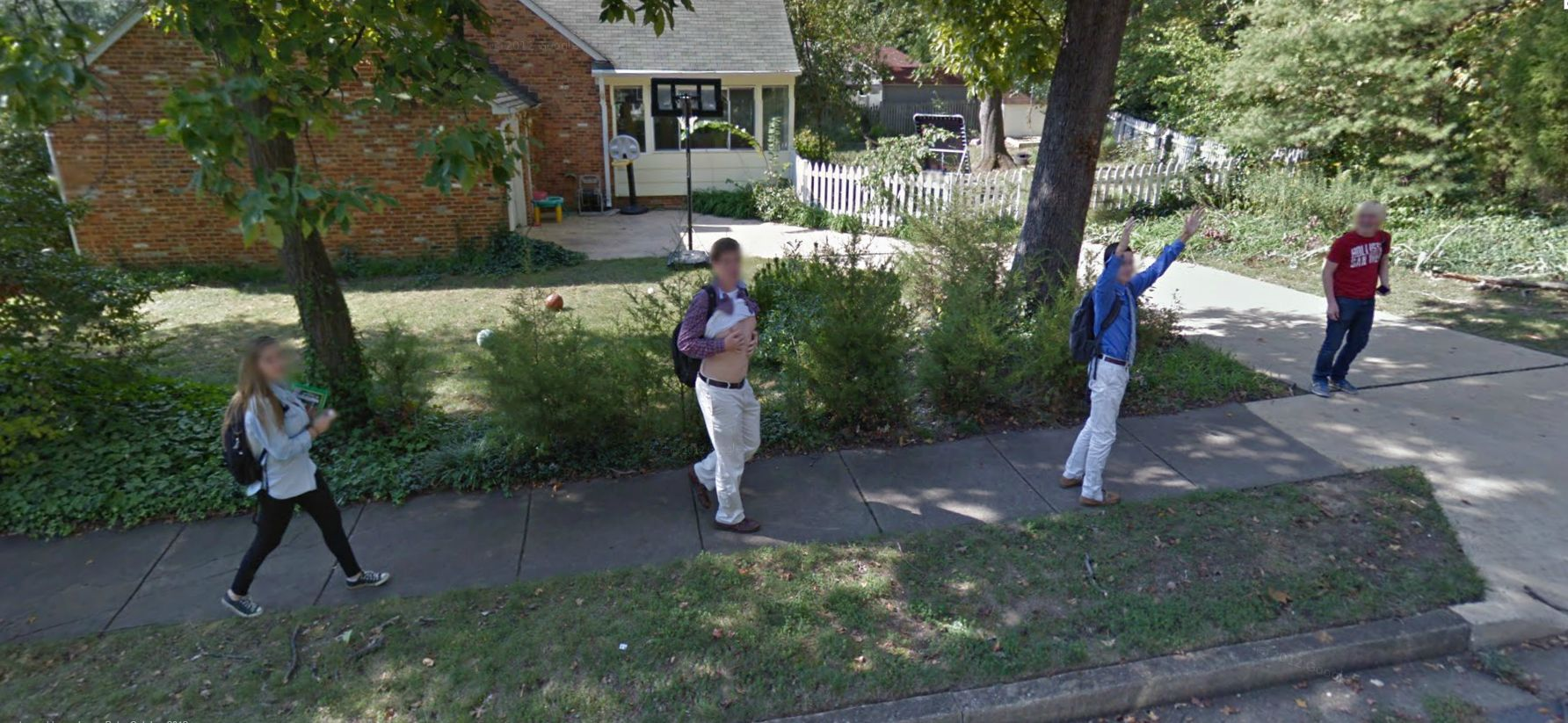 Google Street View Gets Flashed!