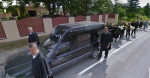A Lithuanian Funeral Procession…