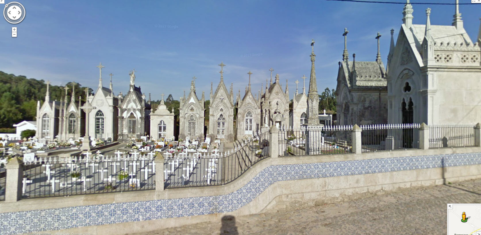 They take cemeteries seriously in Portugal