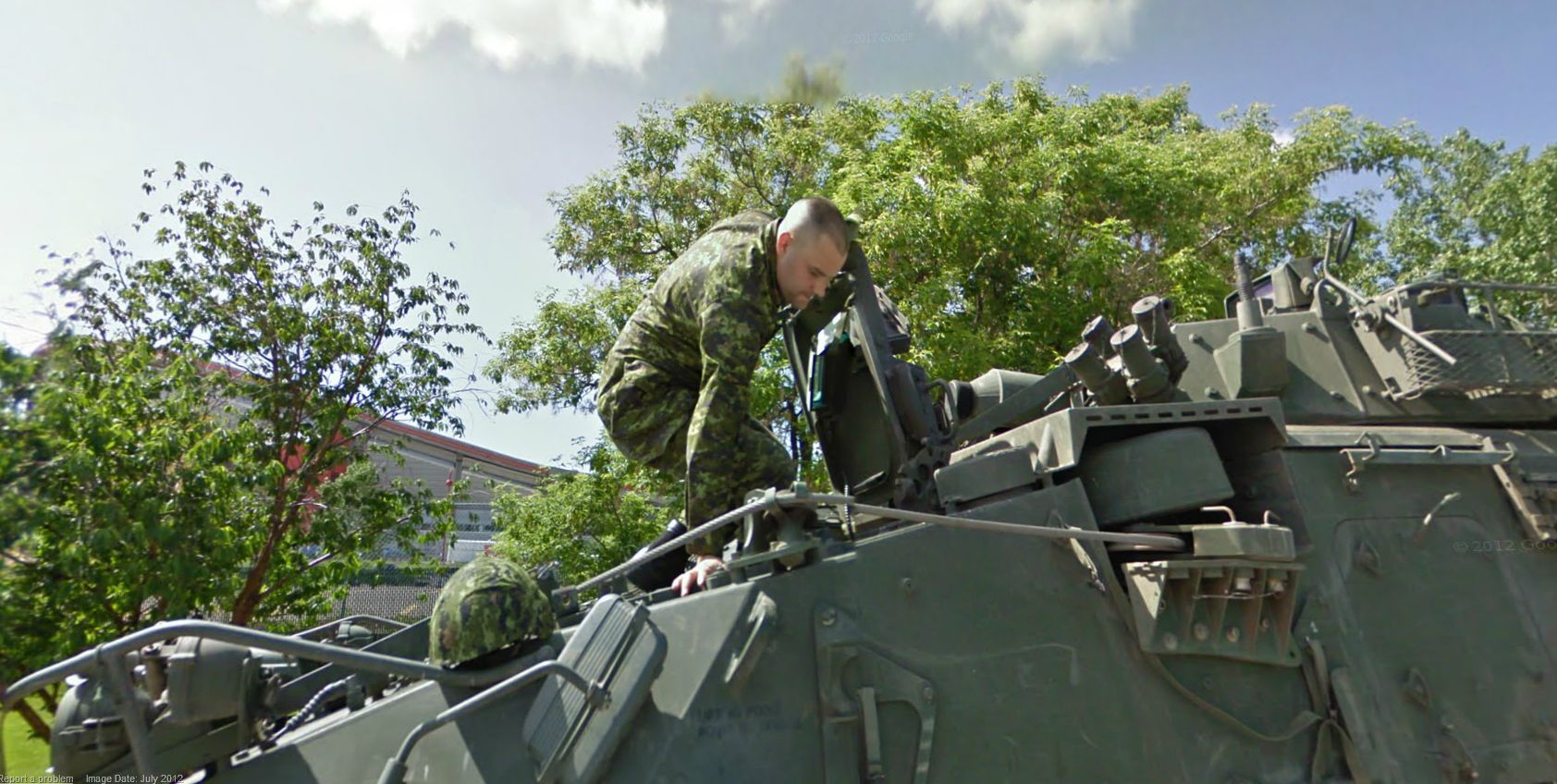 Canadian Soldiers on the War front?