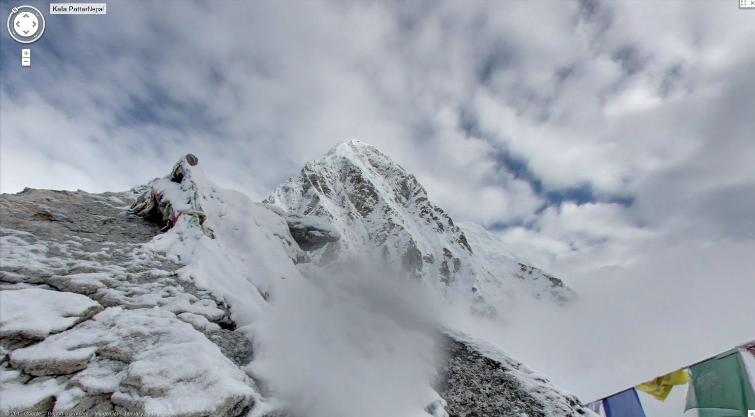 Climbing Everest with Street View