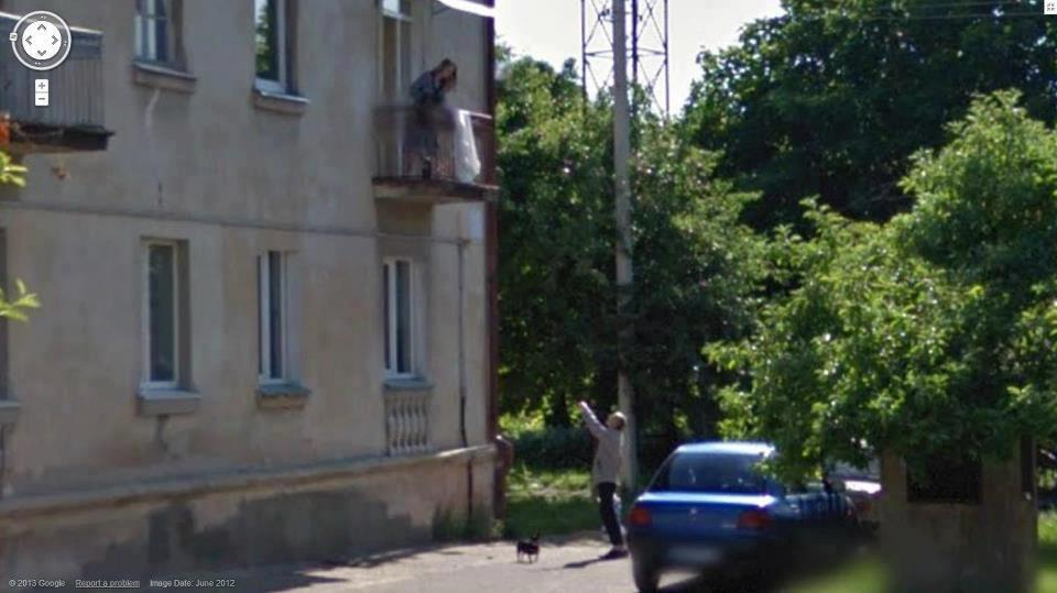 Look, its Romeo and Juliet on Google Street View!