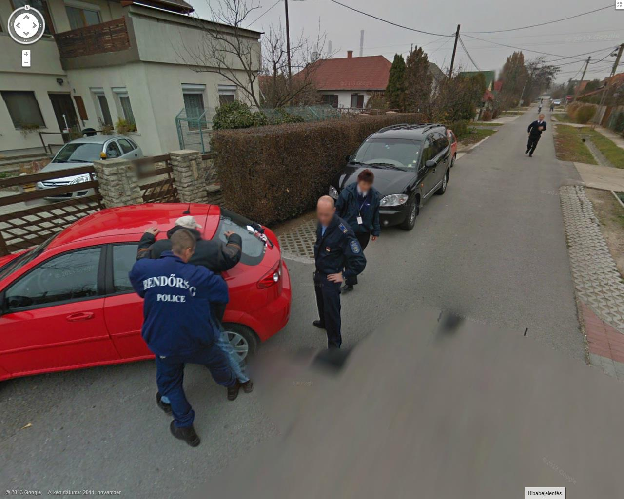 Busted by Hungarian Police