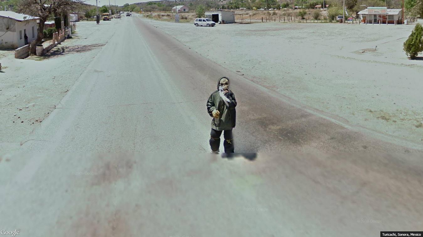 Another scary Street View from Mexico