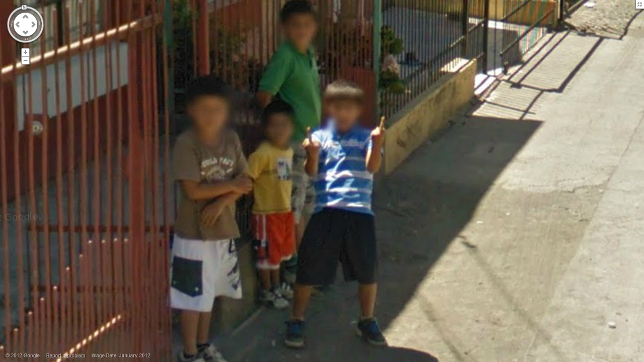 Google Gets the Double Finger from this Brazilian Boy!