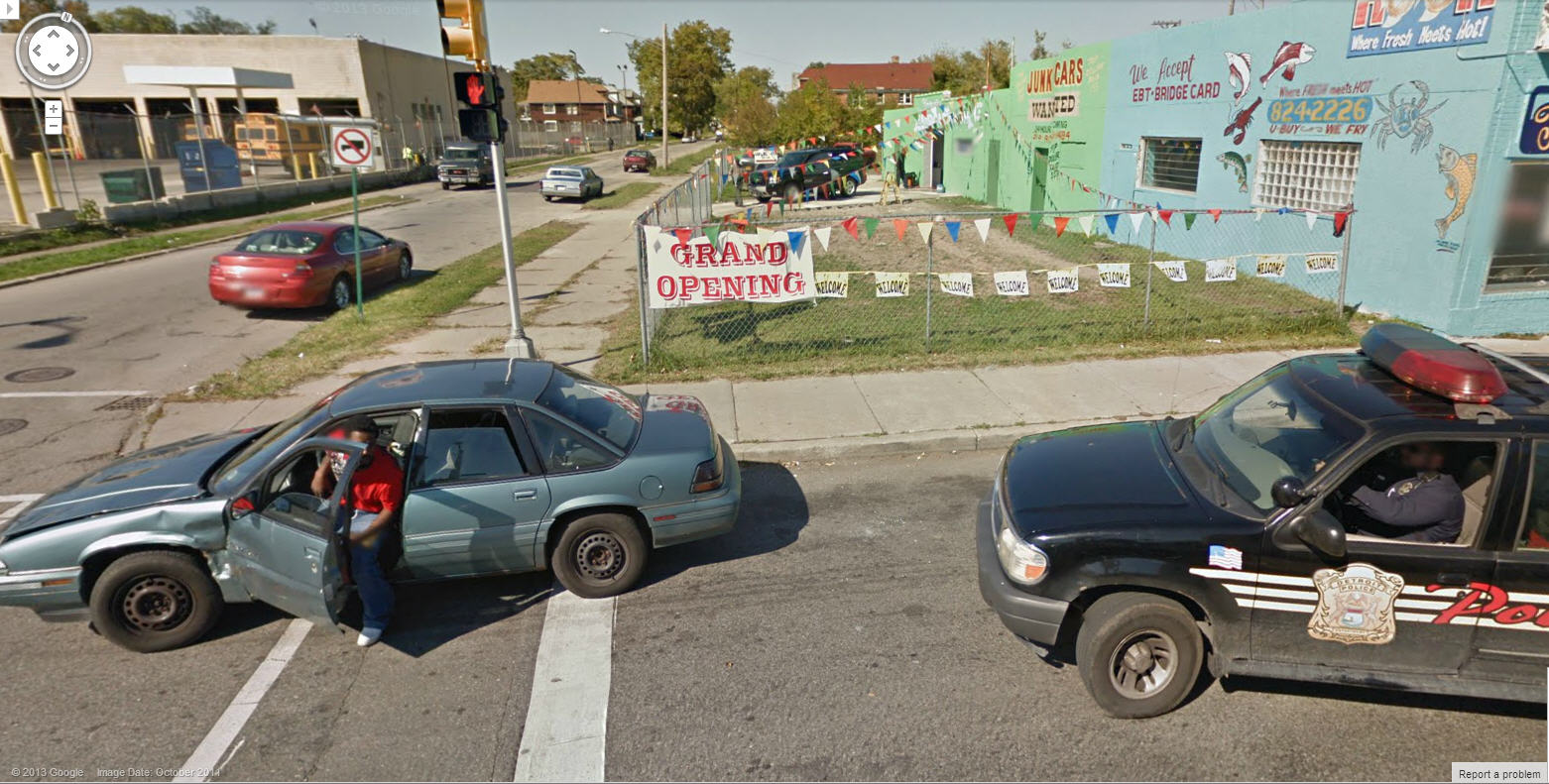 Getting Arrested on Google Street View – Priceless