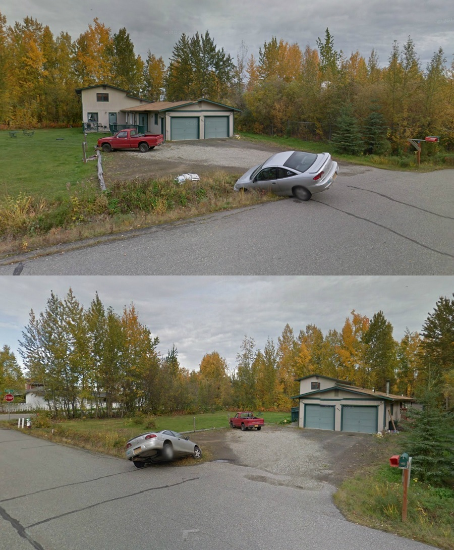 Is this how Alaskan's Park?