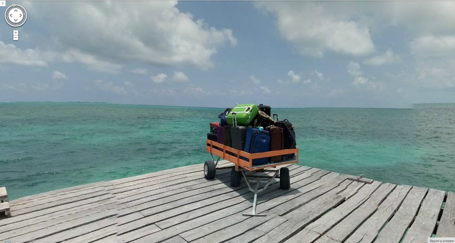 Luggage Left on the Dock