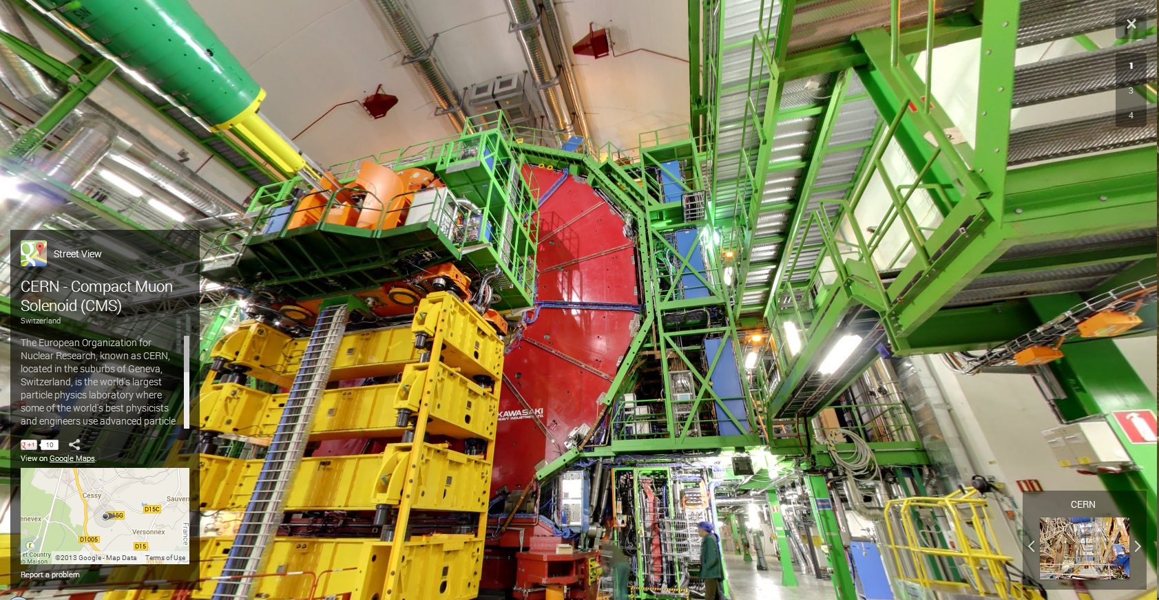 The Higgs Boson is Found on Street View