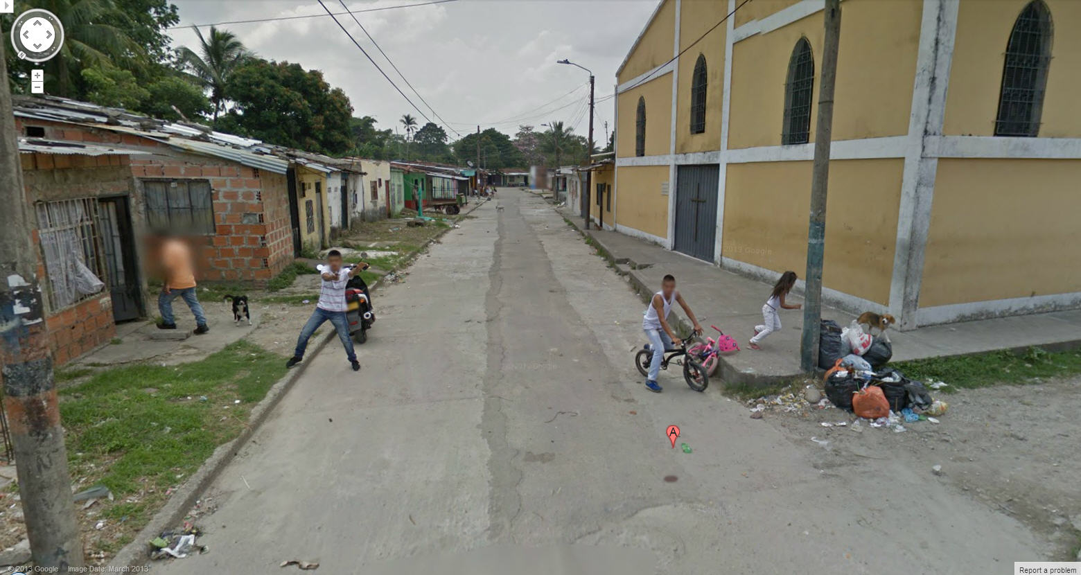 This is Scary – Colombian Man Fires Gun at Google Street View Car
