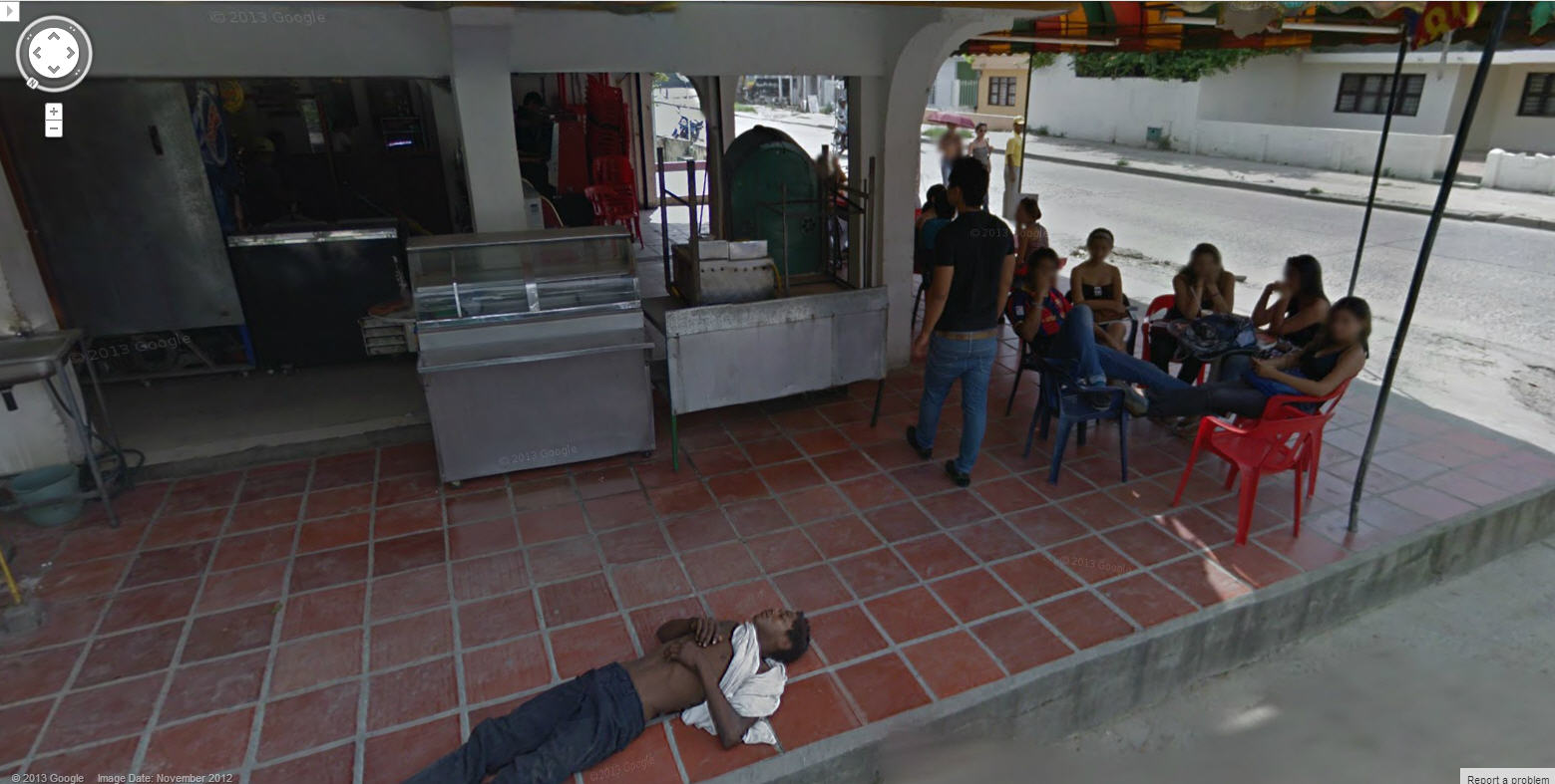 Passed Out in Colombia