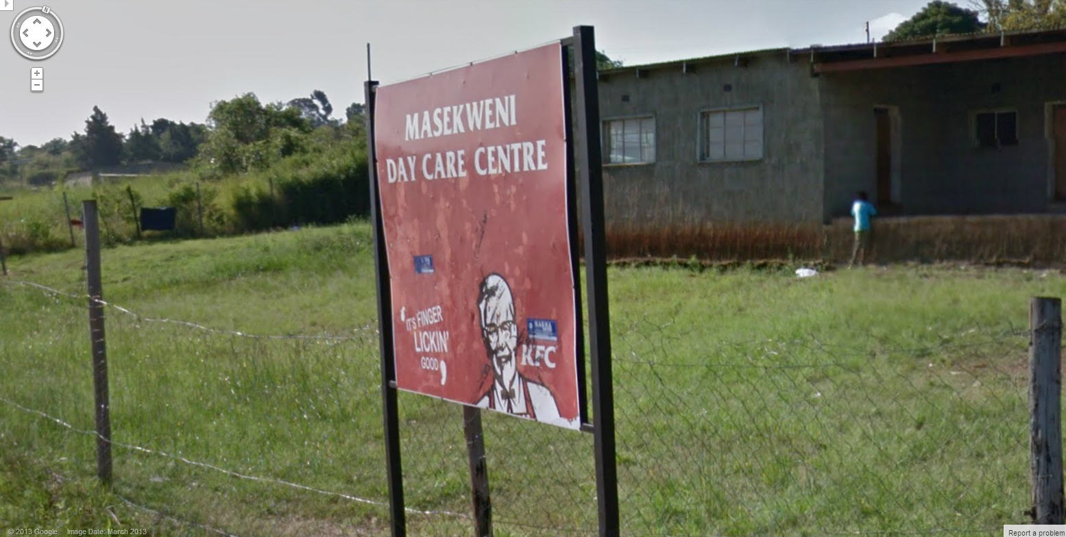 Google Street View Swaziland Now Live – and its finger licking good