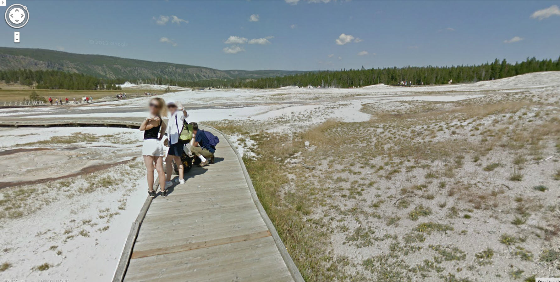 Hello from Yellowstone Park