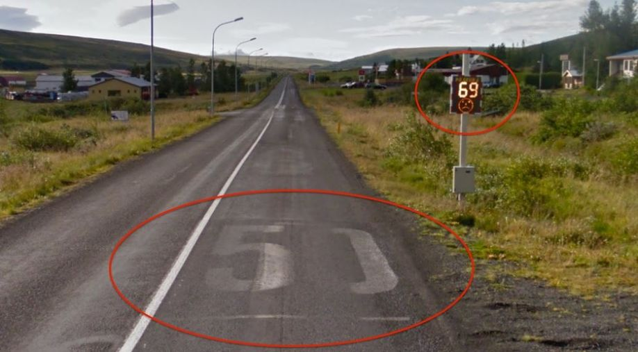 Google Street View Caught Speeding in Iceland!