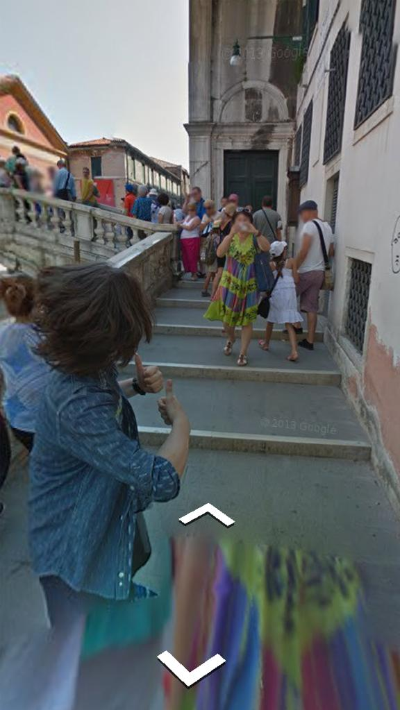 Google Street View Trekker Photobomb…