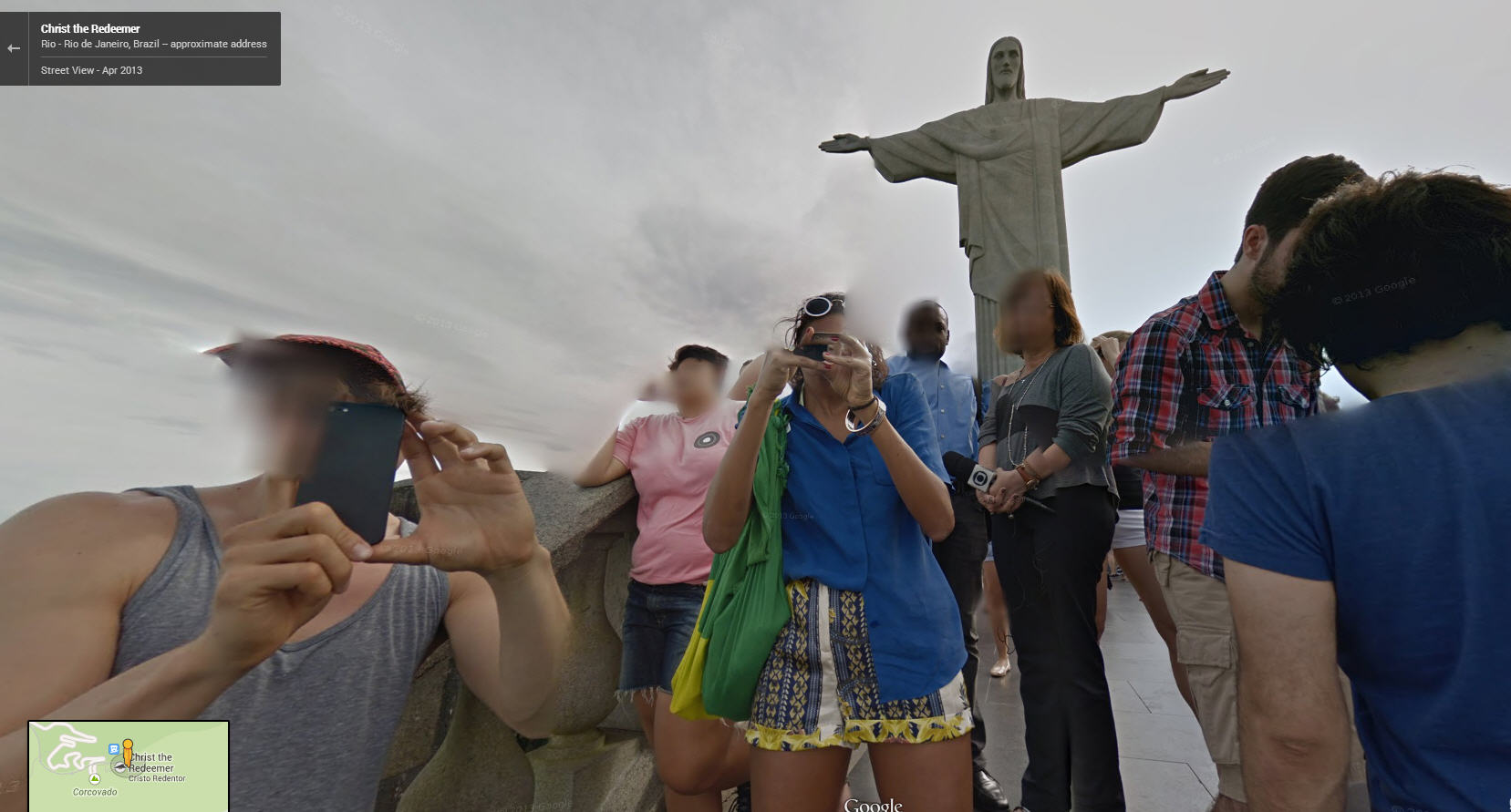 Who's getting more pictures, Jesus, or Google Street View?