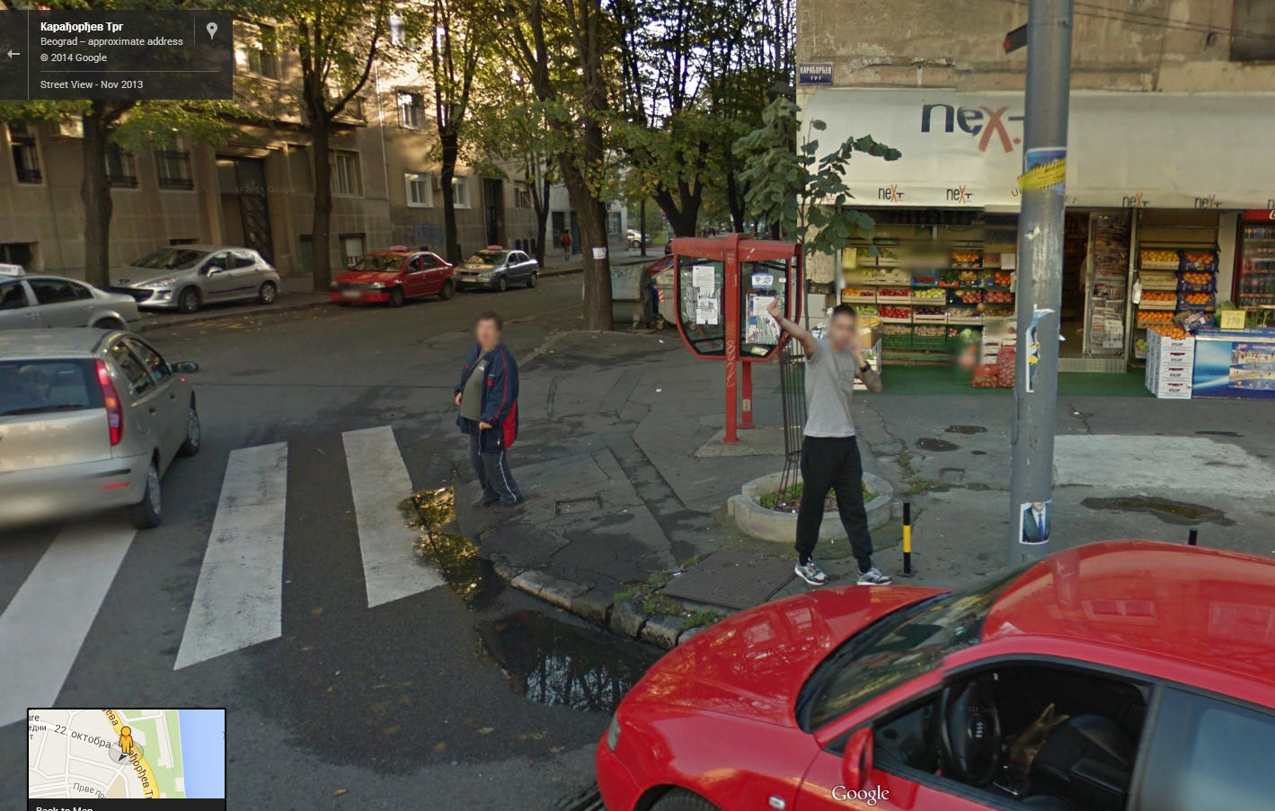 First Unhappy Google Street View Customer from Serbia