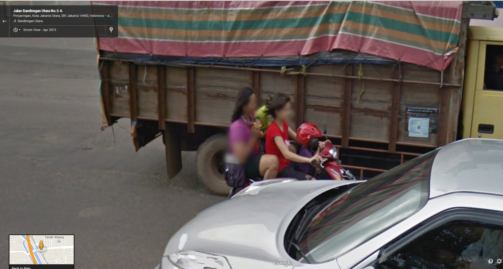 Google Street View Indonesia Now Live!