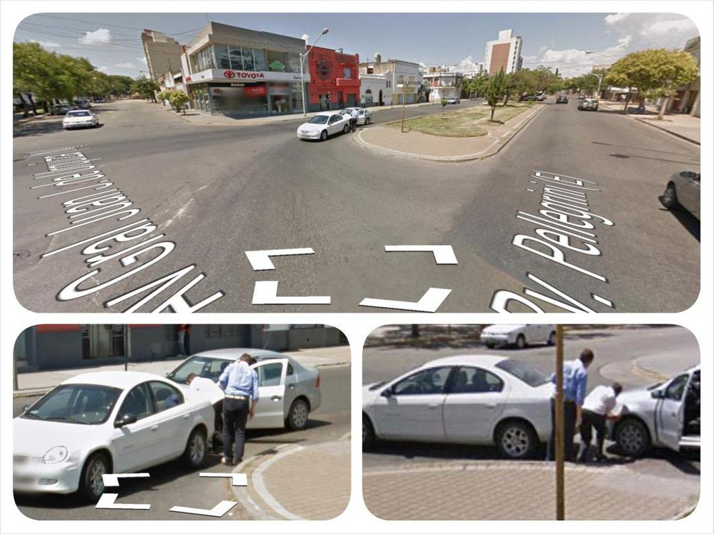 First Accident Captured by Google Street View Argentina