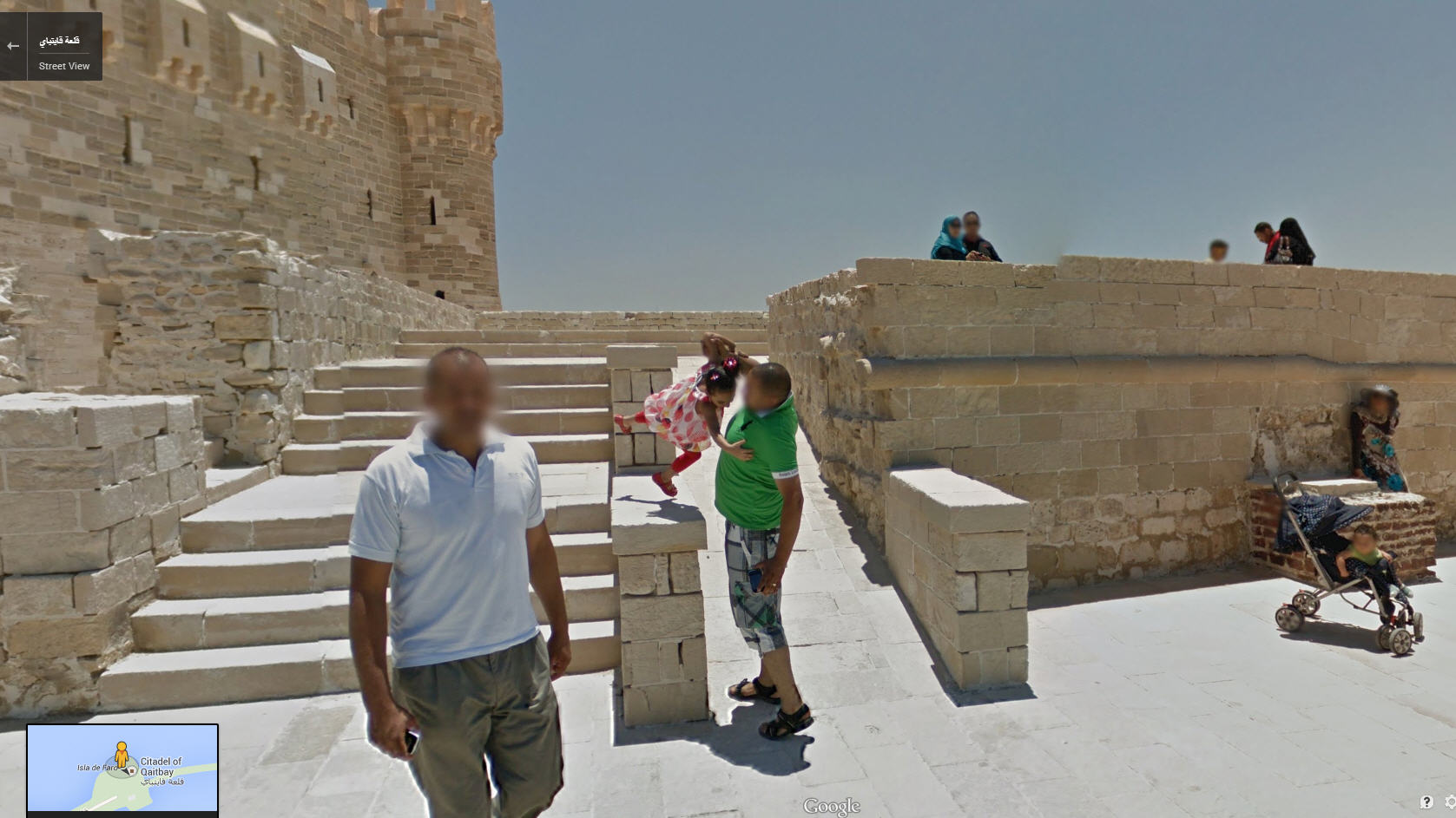 Google Street View Egypt Now Live!