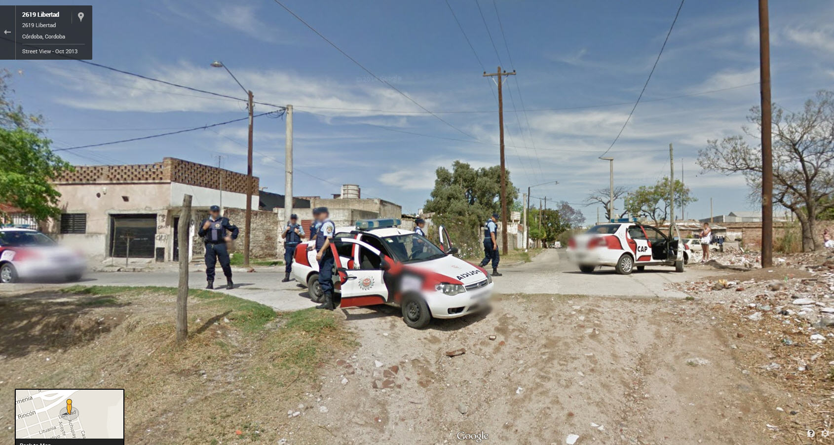 Police action in Argentina