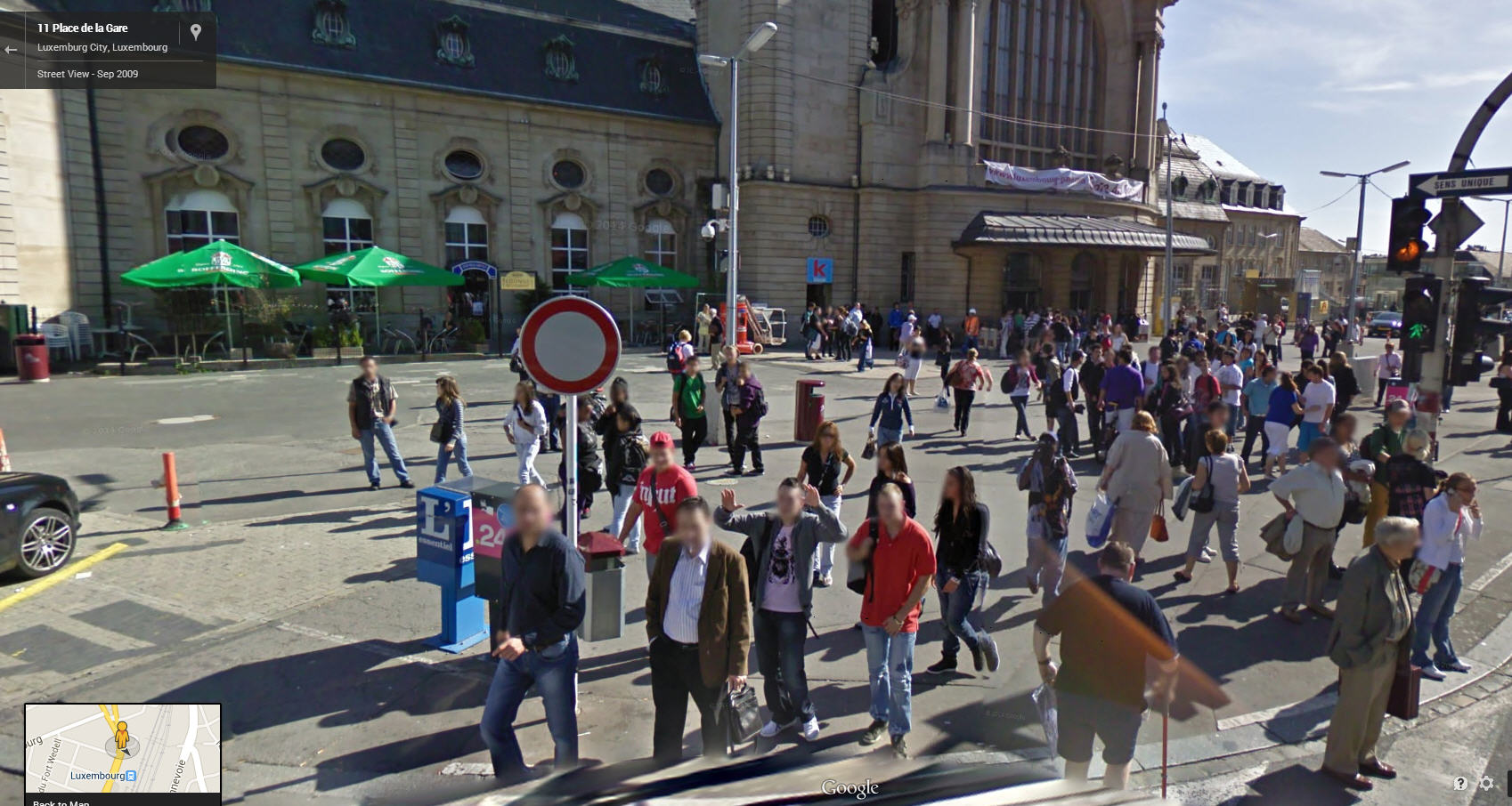 Google Street View Luxembourg Now Live