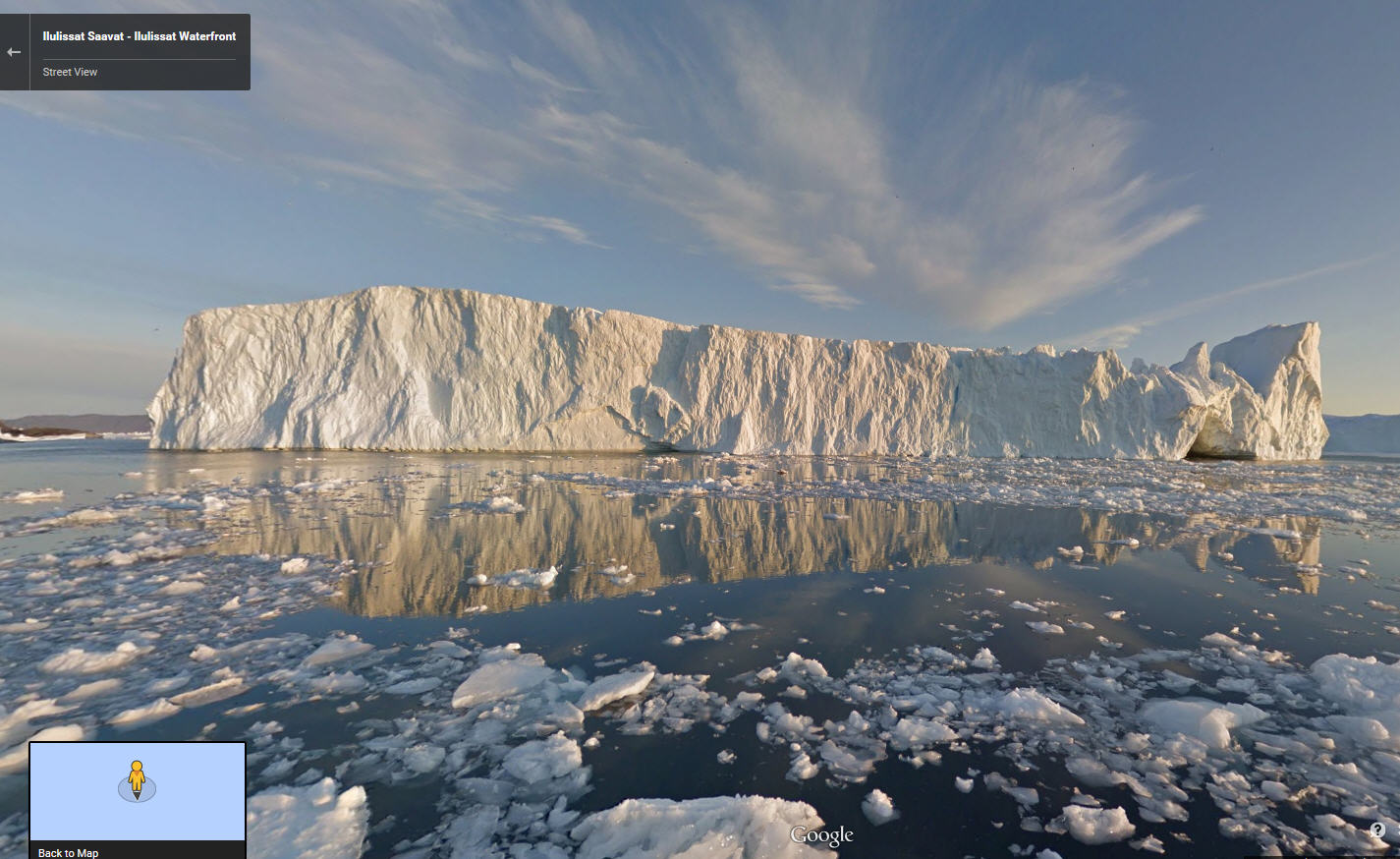 Welcome to Greenland Google Street View