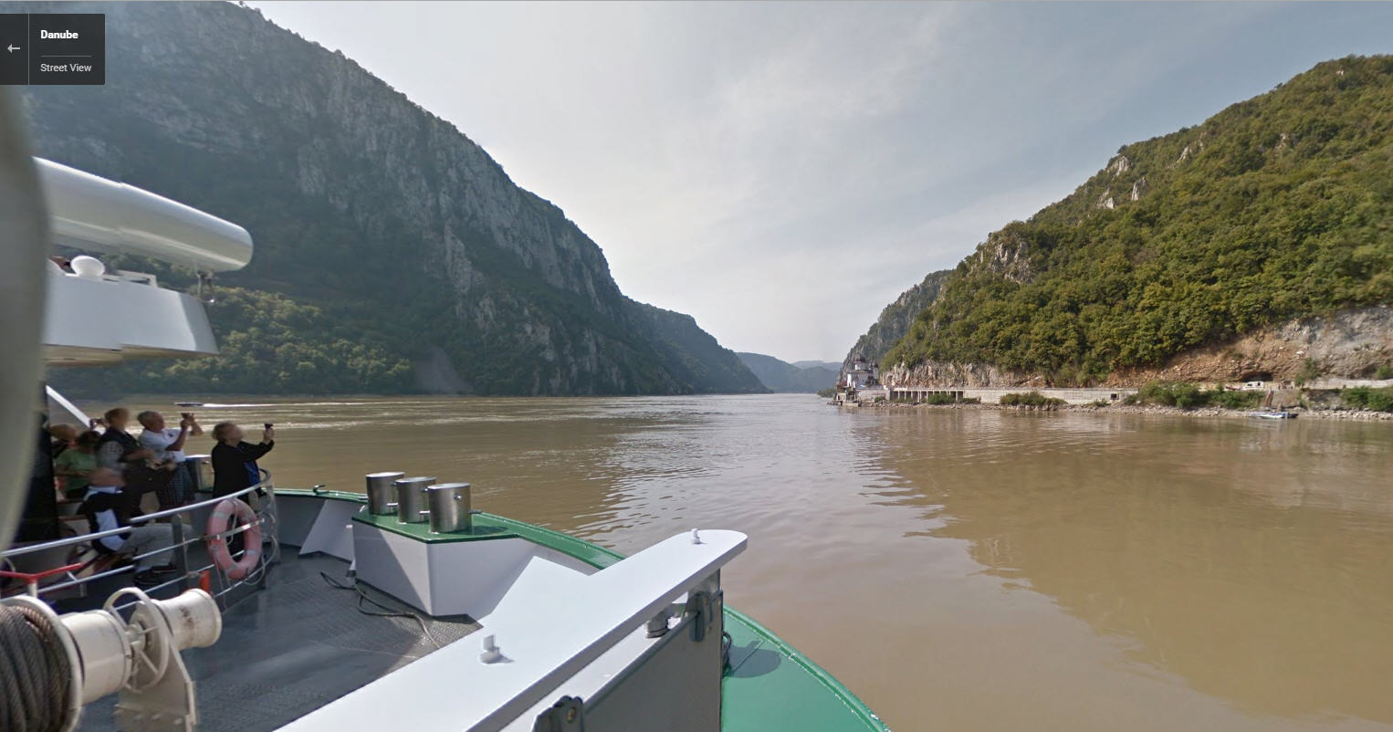 From the Black Forest to the Black Sea — cruise the Danube with Google Maps
