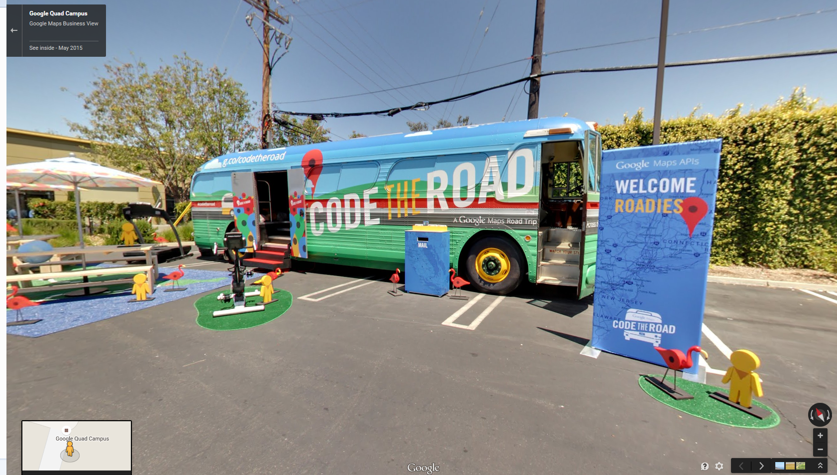 Code the Road – Google Hits the Road