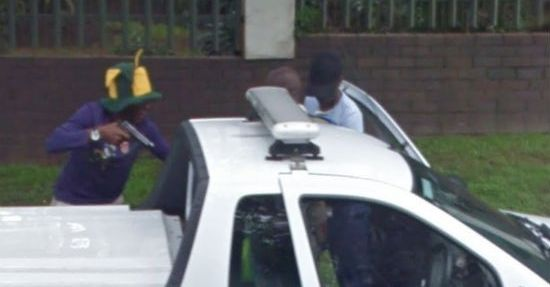 Google Street View Captures a Live Mugging in South Africa!
