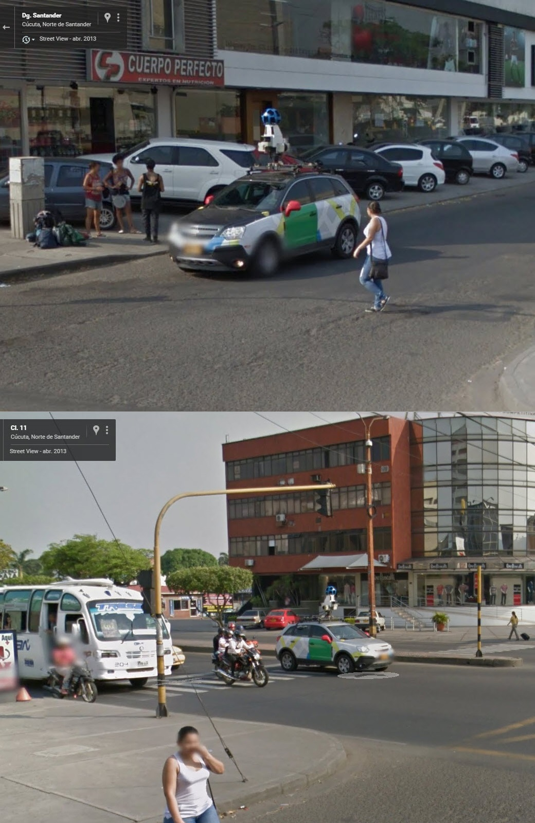 Google Street View Colombia Selfies…