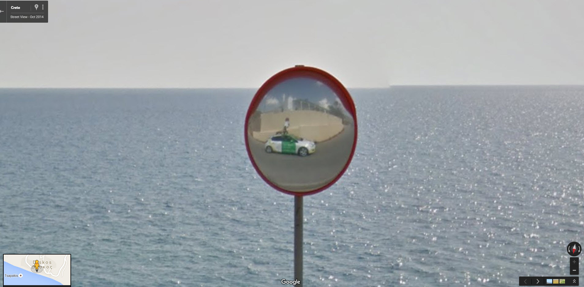 Google Street View Lollipop